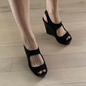 Very wang wedge neoprene sandal